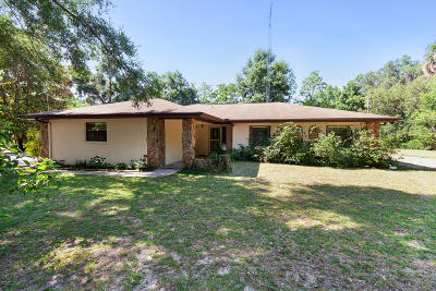 Anthony Single Family Home For Sale: 4120 NE 138th Place
