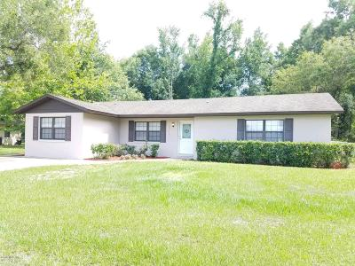 Marion County Single Family Home For Sale: 6716 SE 53rd Place