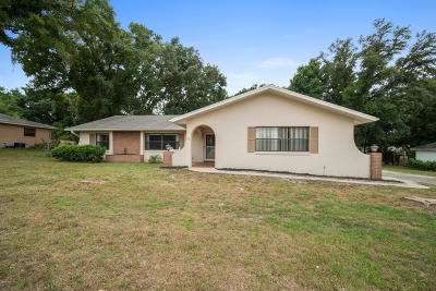 Ocala Single Family Home For Sale: 5804 SW 103rd Street Road