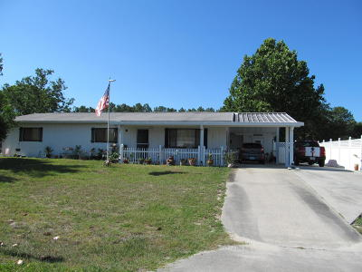 Marion County Single Family Home For Sale: 9480 SW 101 Lane Lane
