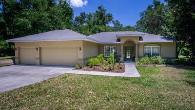 Citrus Springs Single Family Home For Sale: 12241 N Elkam Boulevard