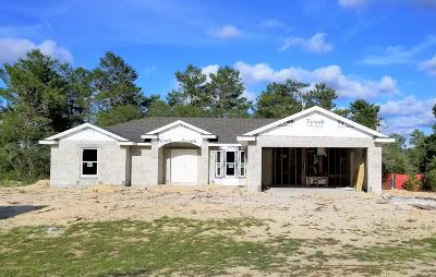 Marion Oaks North, Marion Oaks Rnc, Marion Oaks South Single Family Home For Sale: 4260 SW 169th Ln Road