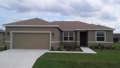 Ocala Single Family Home For Sale: 5257 SE 91st Place Street