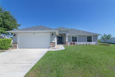 Ocala Single Family Home For Sale: 5867 SW 98th Place