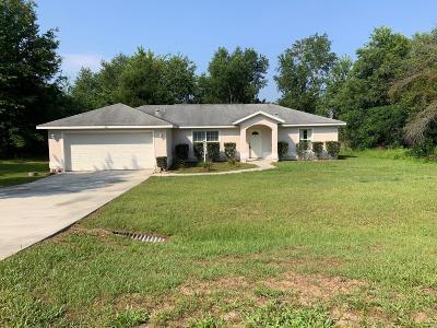 Ocala Single Family Home For Sale: 101 Pine Course