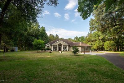Williston Single Family Home Pending-Continue to Show: 16550 NE 51 Street