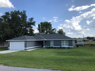 Ocala Single Family Home For Sale: 30 Dogwood Drive Loop