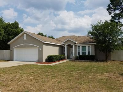 Ocala Single Family Home For Sale: 6 Olive Lane