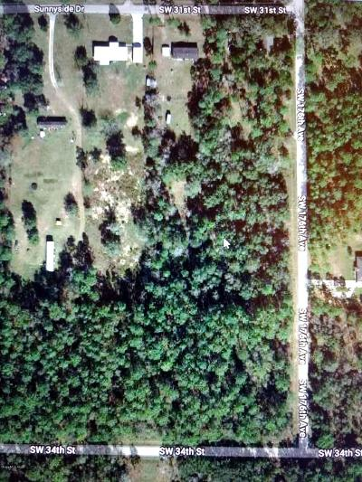 Lake Tropicana Ranchettes Residential Lots & Land For Sale: SW 34th Street