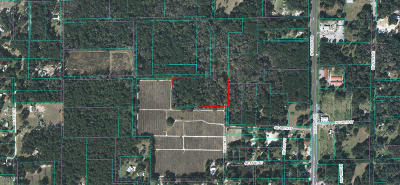 Citra Residential Lots & Land For Sale: NE 19th Court