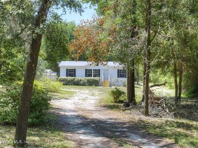 Dunnellon Mobile/Manufactured For Sale: 19250 SW 47 Street