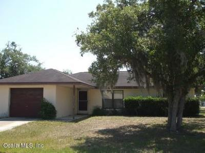 Ocala Single Family Home For Sale: 14571 SW 41 Terrace
