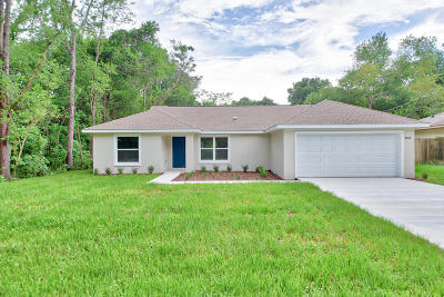 Summerfield Single Family Home For Sale: 4068 SE 138th Place