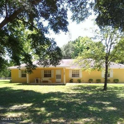 Summerfield Single Family Home For Sale: 3050 SE 157th Pl Road