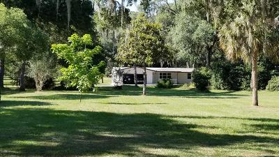 Dunnellon Single Family Home For Sale: 20025 SW 80th Pl Road