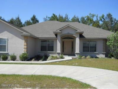 Ocala Single Family Home For Sale: 4585 SW 114 Place