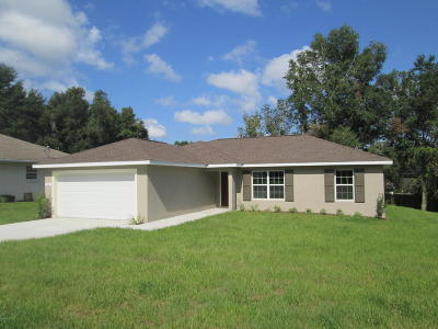 Ocala Single Family Home For Sale: 31 Almond Trail