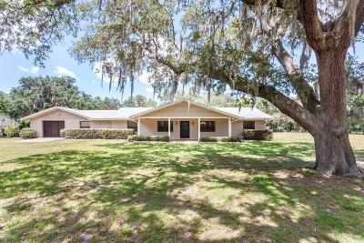 Citra Single Family Home For Sale: 1925 W Hwy 318