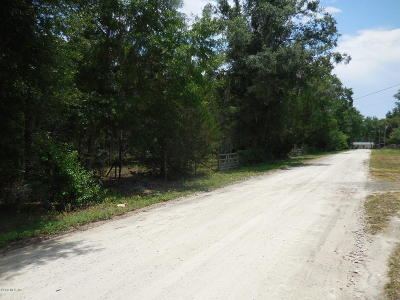 Levy County Residential Lots & Land For Sale: 4931 NE 141st Avenue