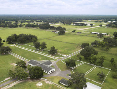 Ocala Farm For Sale: 12750 NW W Hwy 40