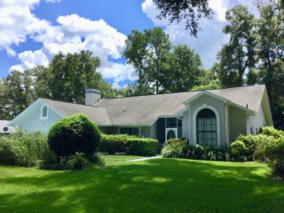 Dunnellon Single Family Home For Sale: 19086 SW 91st Lane Lane