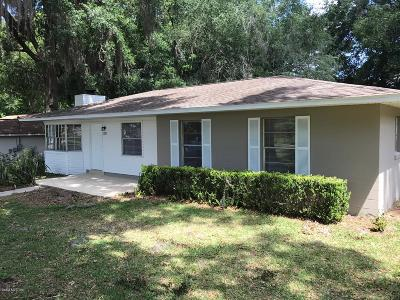 Belleview Single Family Home For Sale: 5321 SE 110th Street