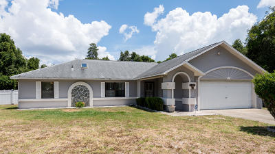 Ocala Single Family Home For Sale: 3491 SW 137th Loop