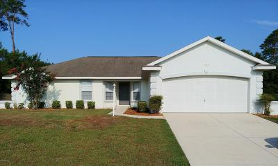 Ocala Single Family Home For Sale: 16338 SW 48 Circle