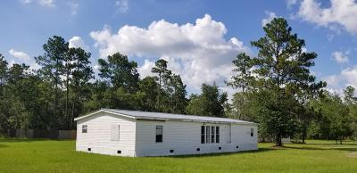 Ocala Mobile/Manufactured For Sale: 3038 SW 165 Ave Road