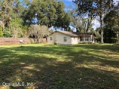 Micanopy Single Family Home For Sale: 5930 NW 193rd Lane