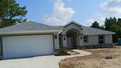 Ocala Single Family Home For Sale: 375 Marion Oaks Trail Trail