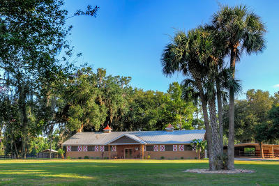 Micanopy Farm For Sale: 21250 NW 86th Avenue
