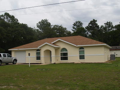 Ocala Single Family Home For Sale: 15793 SW 55th Avenue Road