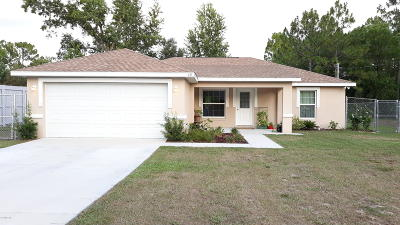 Ocala Single Family Home For Sale: 49 Pecan Run Pass