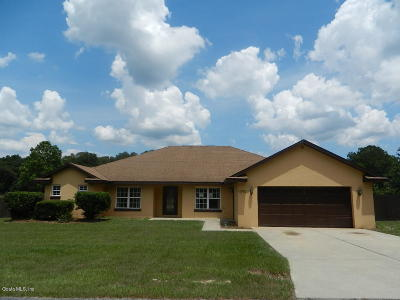 Ocala Single Family Home For Sale: 13783 SE 8 Court