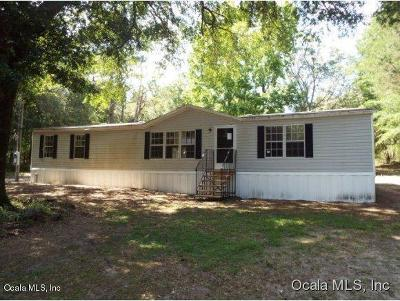 Dunnellon Mobile/Manufactured For Sale: 19891 SW 57th Street