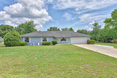 Ocala Single Family Home For Sale: 6493 SE 89th Street