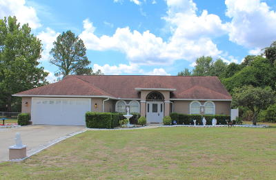 Marion Oaks North, Marion Oaks Rnc, Marion Oaks South Single Family Home For Sale: 2936 SW 137th Lane