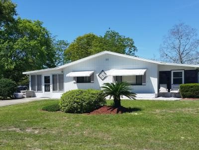 Ocala Single Family Home For Sale: 10080 SW 95th Avenue