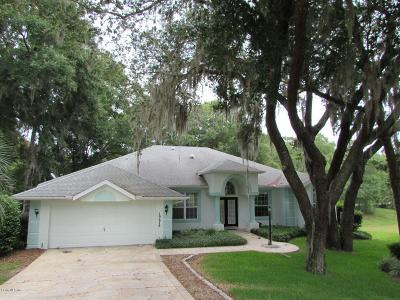 Dunnellon Single Family Home For Sale: 19678 SW 88 Loop