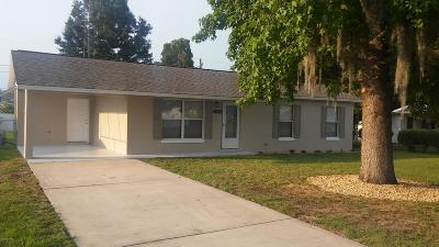 Belleview Single Family Home Pending: 5313 SE 106th Street