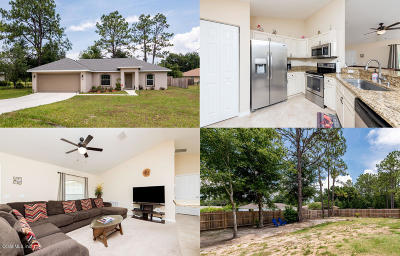 Ocala Single Family Home For Sale: 67 Pine Trace