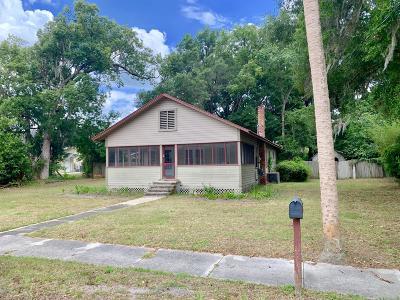 Dunnellon Single Family Home For Sale: 20706 Park Avenue