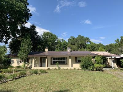 Belleview Single Family Home Pending: 11690 SE 55th Avenue Road