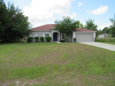 Marion Oaks North, Marion Oaks Rnc, Marion Oaks South Single Family Home For Sale: 4830 SW 142nd Place Road