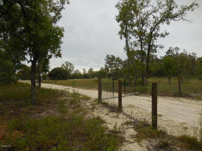 Levy County Residential Lots & Land For Sale: 2871 SE 147th Avenue