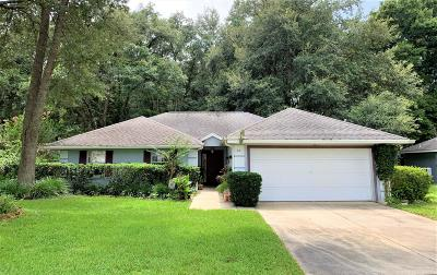 Ocala Single Family Home For Sale: 64 Almond Road