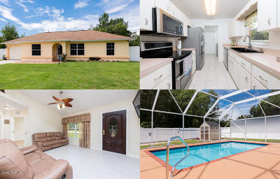 Ocala Single Family Home For Sale: 490 Marion Oaks Trail
