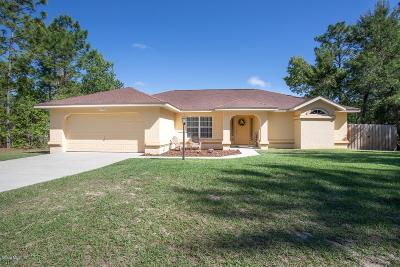 Marion Oaks North, Marion Oaks Rnc, Marion Oaks South Single Family Home For Sale: 15772 SW 55th Avenue Road