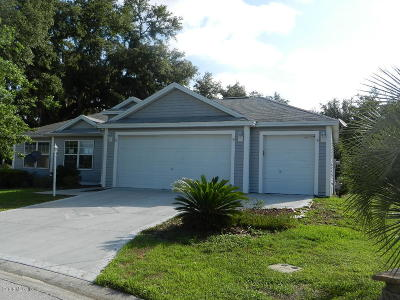 The Villages Single Family Home For Sale: 17355 SE 91st Lee Avenue